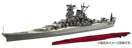 1/700 FH1 日本海軍戦艦 大和 フルハルモデル
